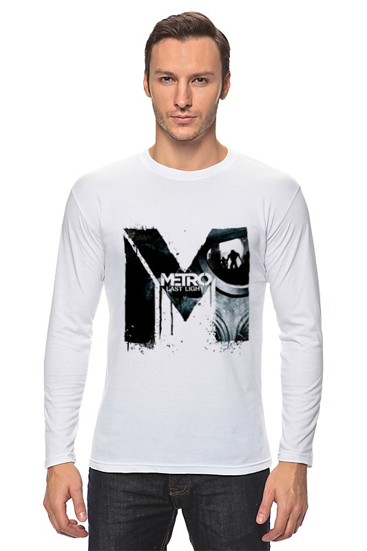 Лонгслив Printio Metro last light футболка wearcraft premium slim fit printio metro last light