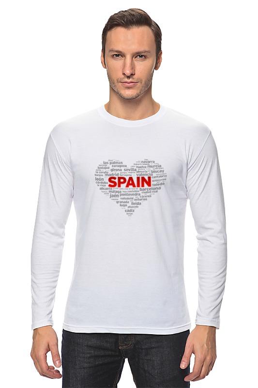 Лонгслив Printio Испания испания линия маннергейма