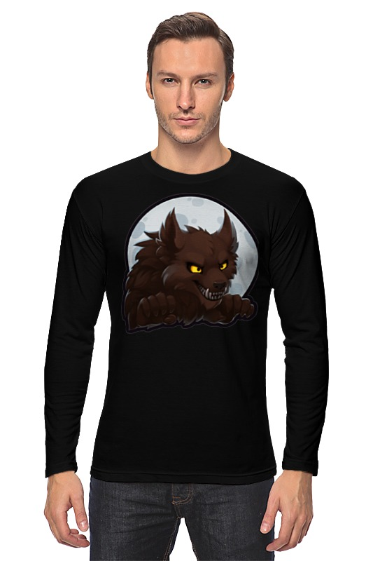 Лонгслив Printio Werewolf лонгслив printio делай добро