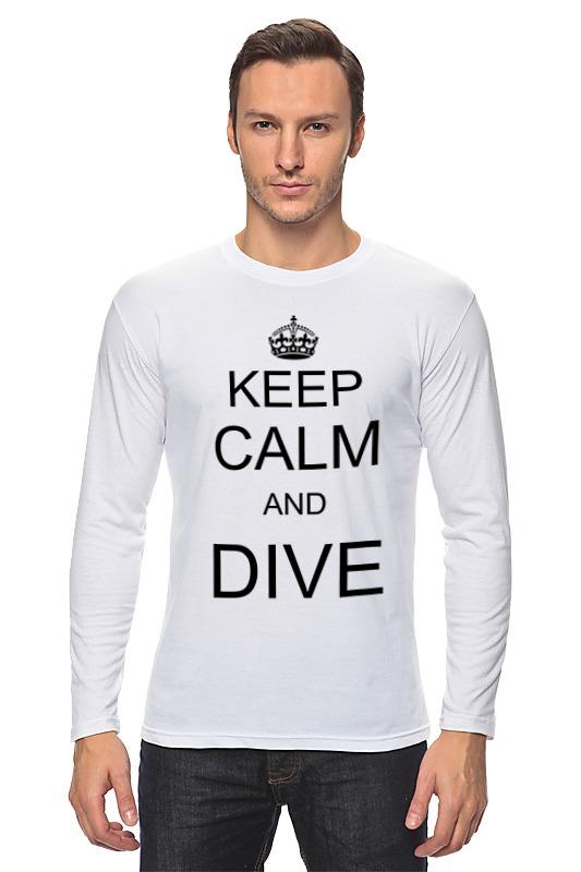 Лонгслив Printio Keep calm футболка wearcraft premium printio keep calm