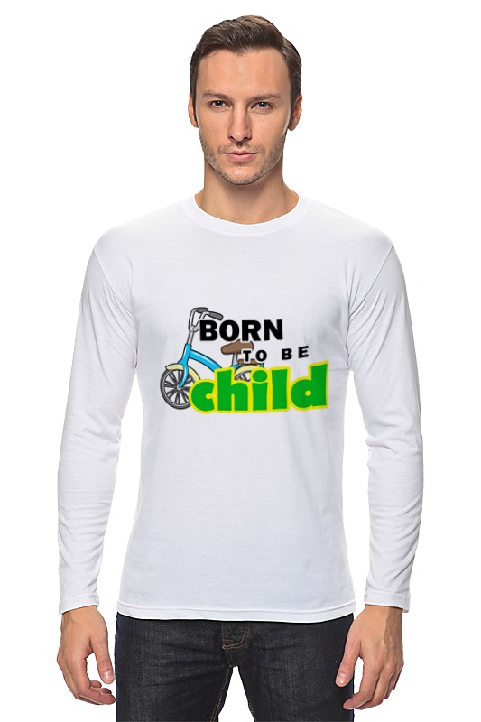 Лонгслив Printio Born to be child frommer s® born to shop paris