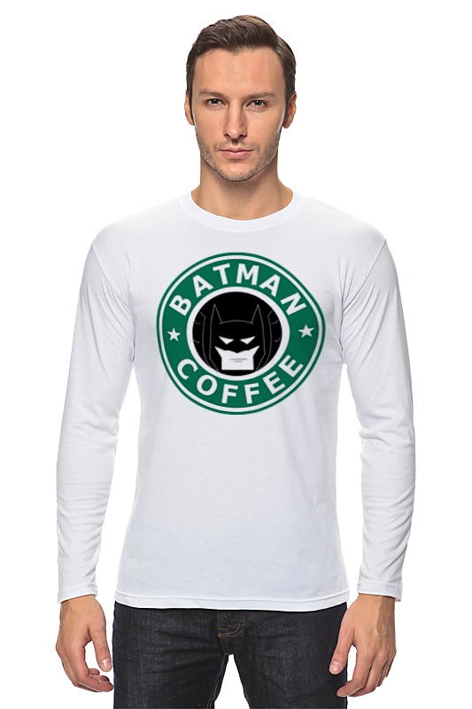 Лонгслив Printio Batman coffee лонгслив printio ice king x batman