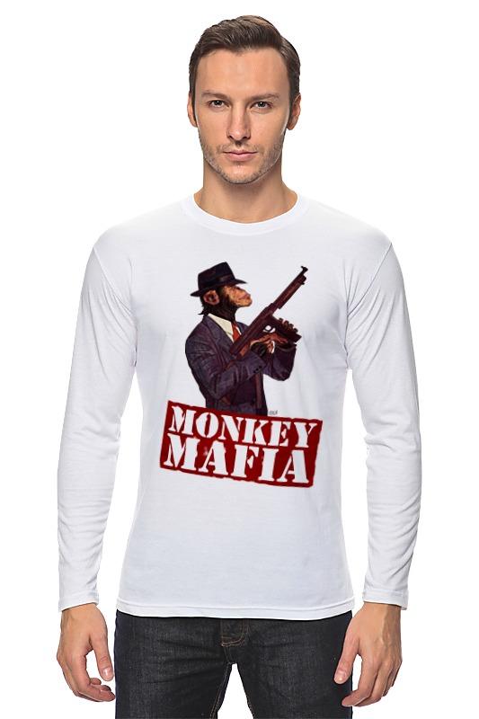 где купить Лонгслив Printio Monkey mafia по лучшей цене