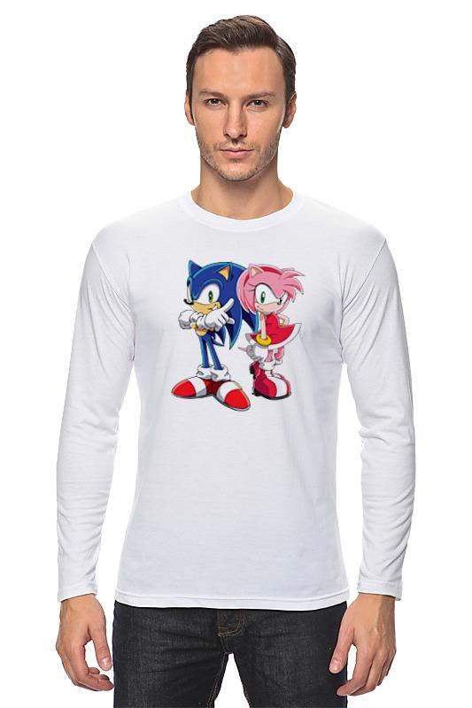 Лонгслив Printio Sonic amy