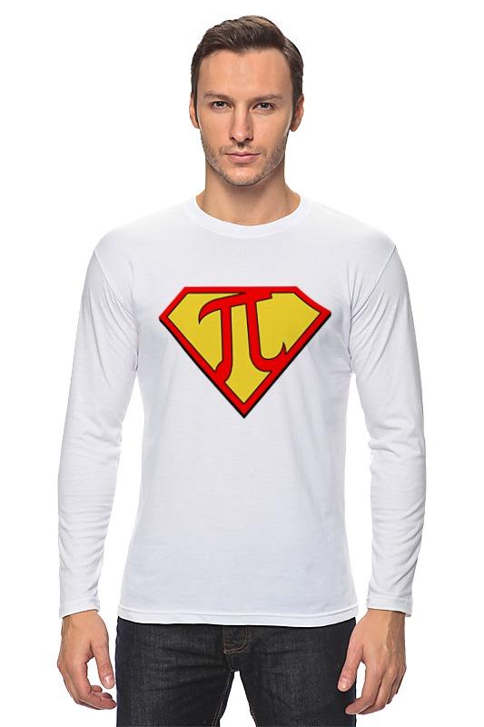 Лонгслив Printio Супер пи (super pi) футболка стрэйч printio супер пи super pi