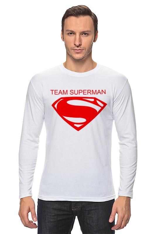 Лонгслив Printio Команда супермена