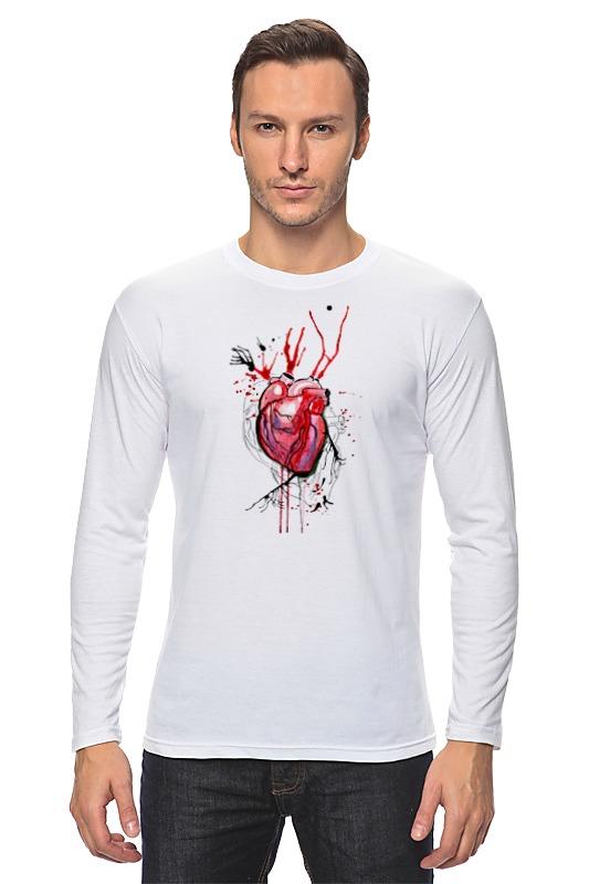 Лонгслив Printio Обнаженное сердце лонгслив printio акварель сердце из голубики