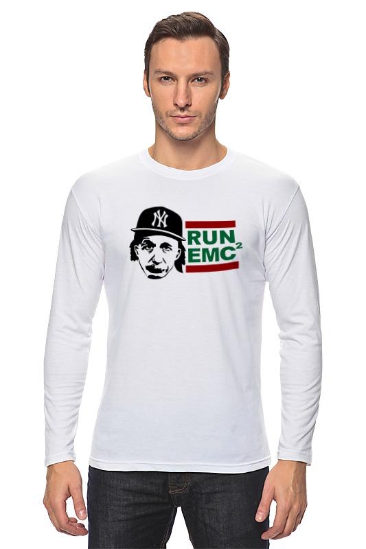 купить Лонгслив Printio Run emc по цене 975 рублей
