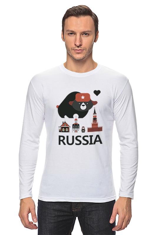Лонгслив Printio Россия (russia) лонгслив printio россия украина