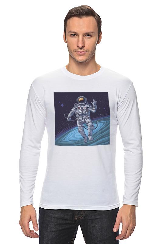 Лонгслив Printio Cosmos scalar cosmos blue