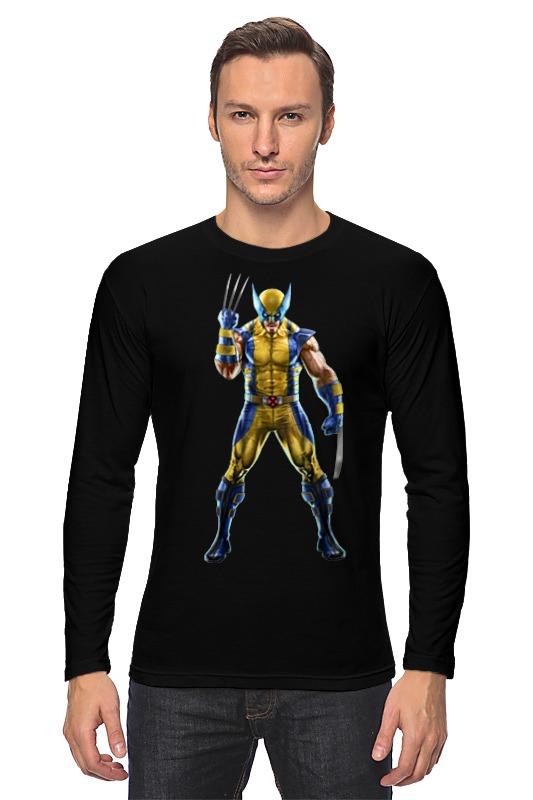 Лонгслив Printio Wolverine / росомаха лонгслив printio козел