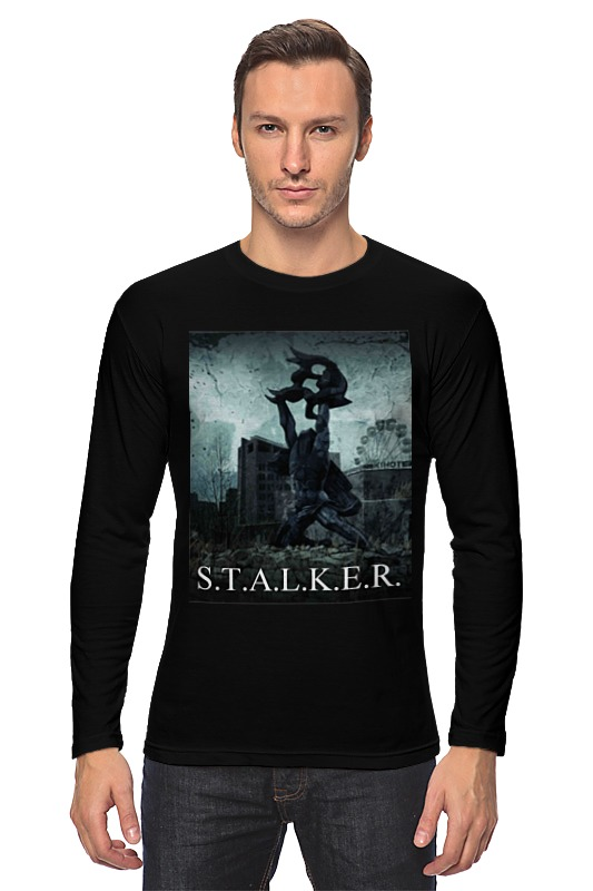 Лонгслив Printio Stalker necron canoptek tomb stalker f648