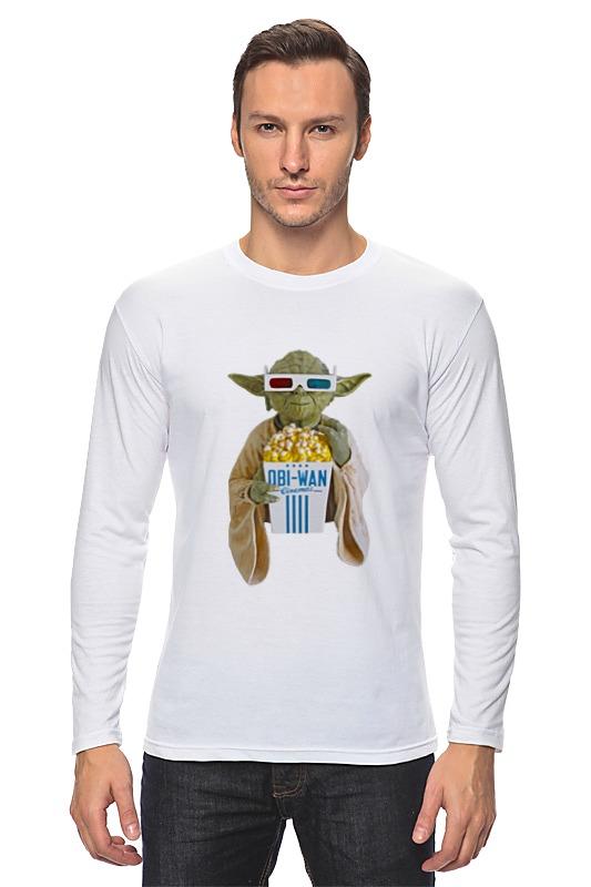 Лонгслив Printio Yoda йода лонгслив printio магистр йода