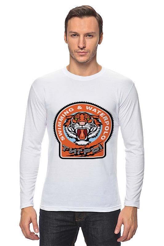 Лонгслив Printio Тигры предметы с олимпийской символикой