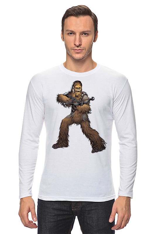Лонгслив Printio Chewbacca (star wars) лонгслив printio chewbacca star wars