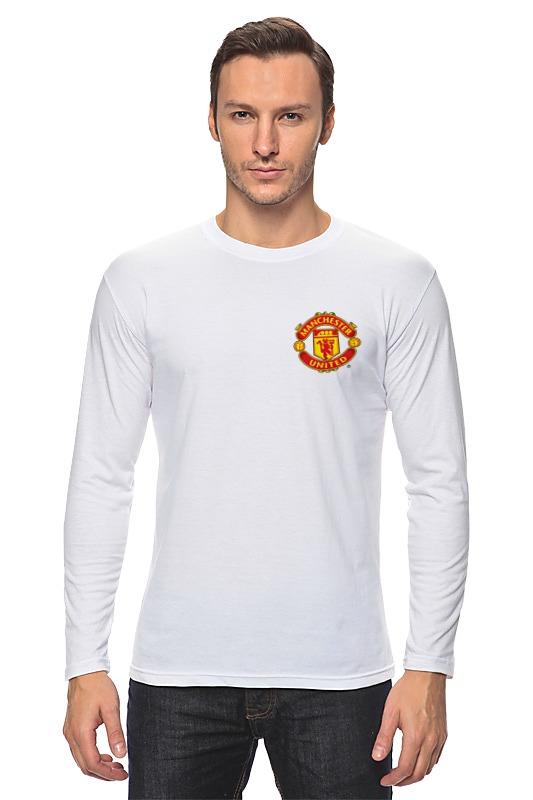 Лонгслив Printio Manchester united футбольная форма top thai manchester united 2014 15 n98 jacket chelsea