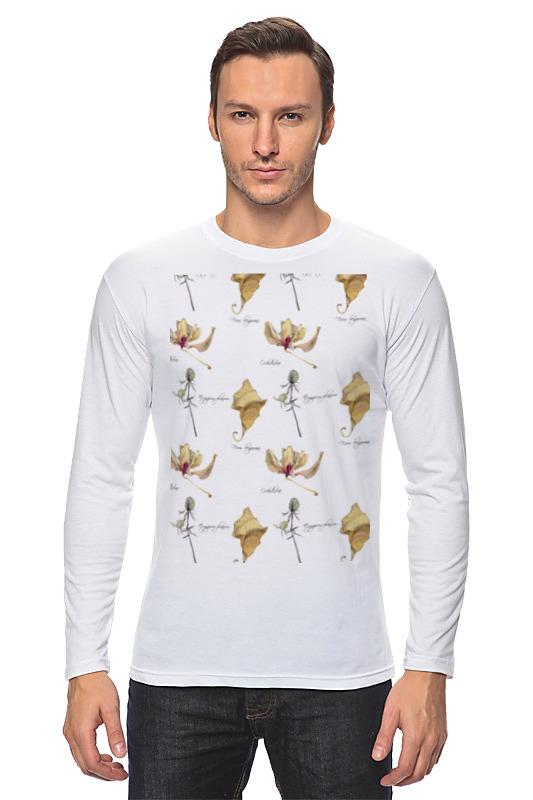 Лонгслив Printio Орхидея,лист и колючка лонгслив printio орхидея
