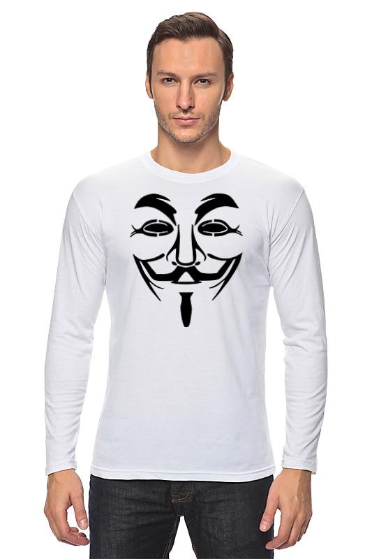 Лонгслив Printio Anonymous лонгслив printio usa anonymous