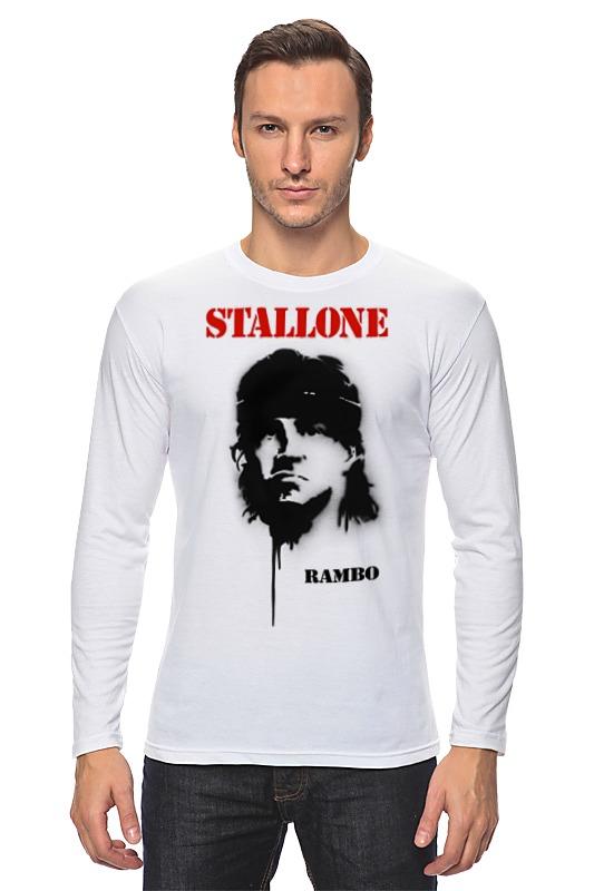 Лонгслив Printio Sylvester stallone футболка классическая printio sylvester stallone