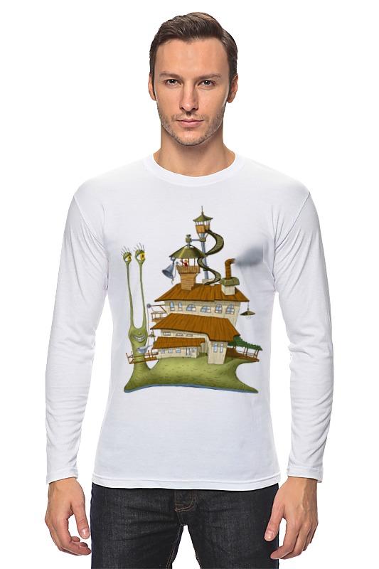 Лонгслив Printio Живой летающий дом детская футболка классическая унисекс printio живой летающий дом