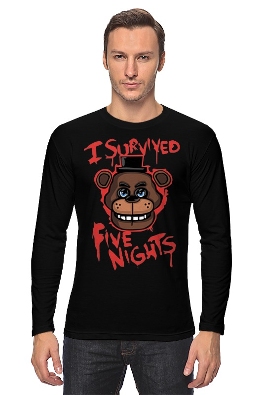 Лонгслив Printio Five nights at freddy майка классическая printio five nights at freddy