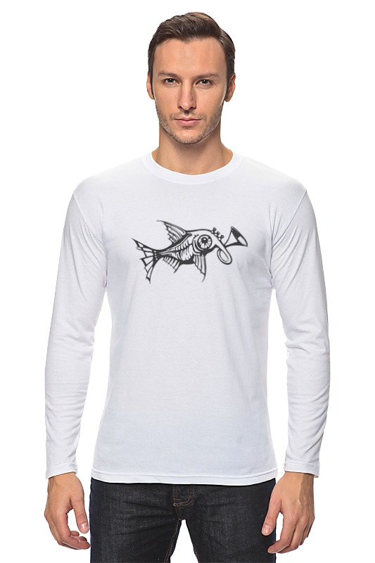 Лонгслив Printio Чудо-рыба куплю торговля котлас рыба свежемороженная оптом хладокомбинат
