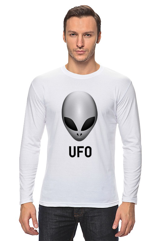 Лонгслив Printio Пришелец ufo холст 30x40 printio пришелец ufo