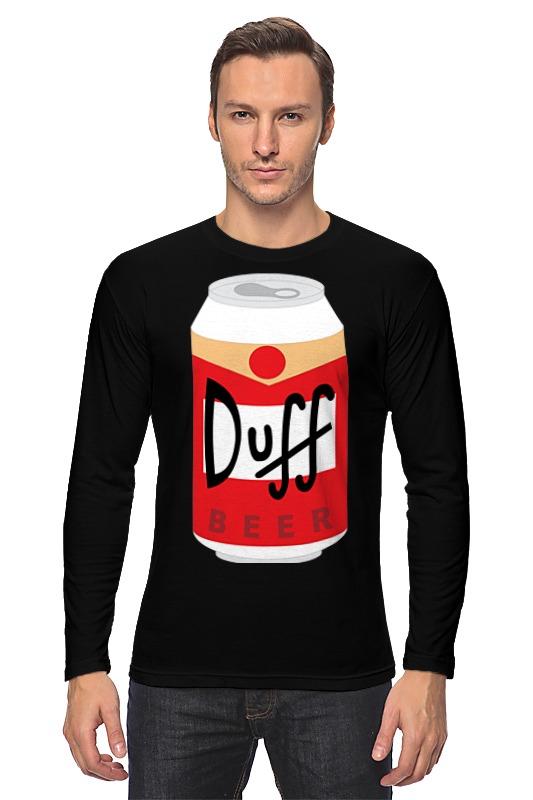 Лонгслив Printio Пиво дафф (duff beer) сумка printio duff beer