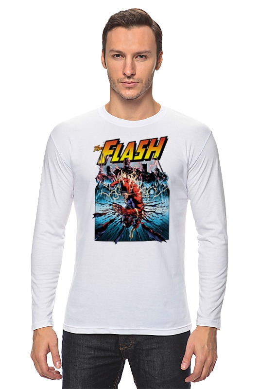 Лонгслив Printio Флэш (flash) лонгслив printio the flash