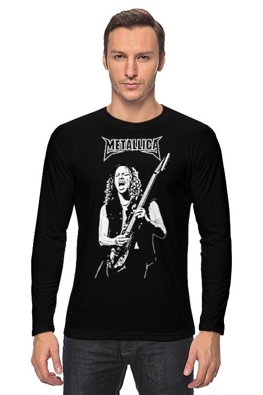 Лонгслив Printio Metallica