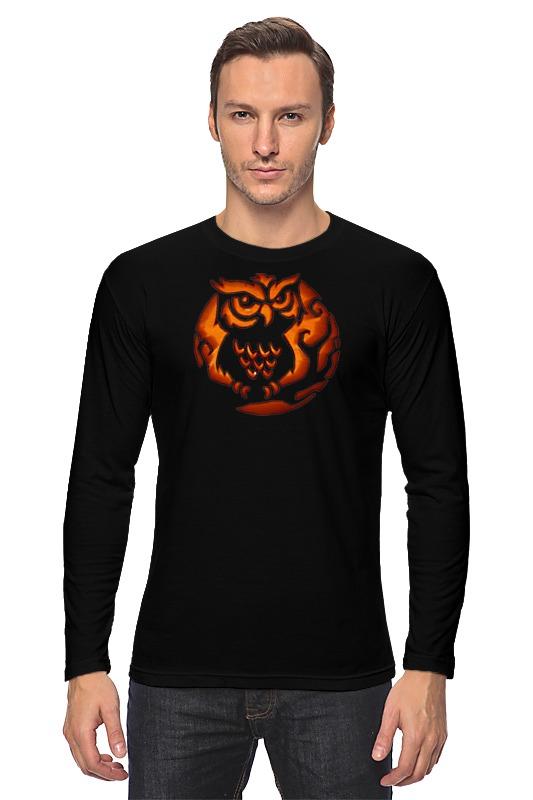 Лонгслив Printio Огненная сова футболка классическая printio огненная сова