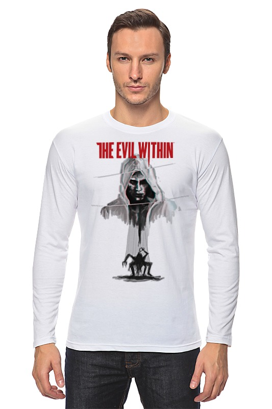 Лонгслив Printio The evil within