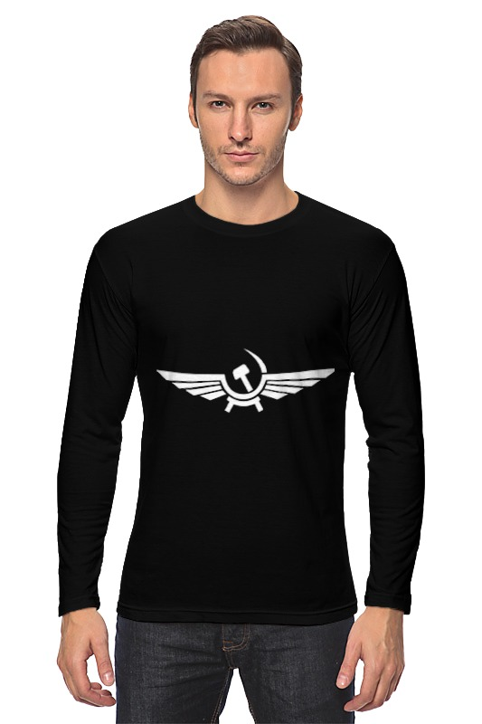 Лонгслив Printio аэрофлот лого  кружка printio аэрофлот