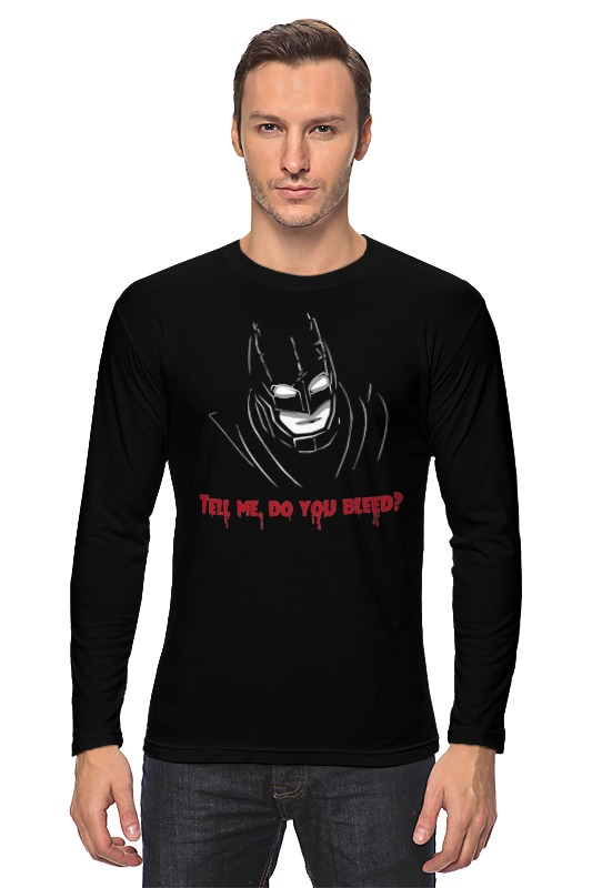 Лонгслив Printio Бэтмен против супермена цена