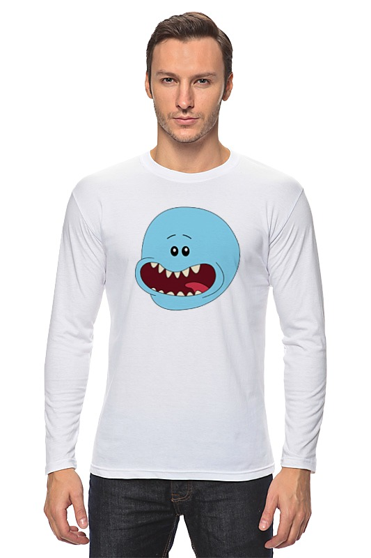 Фото - Лонгслив Printio Mr. meeseeks (rick and morty) лонгслив printio мистер мисикс рик и морти