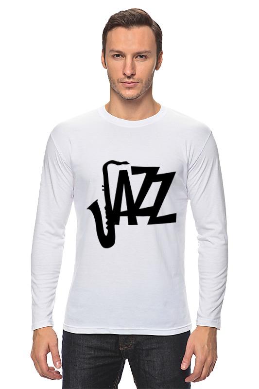 Лонгслив Printio Джаз (jazz)