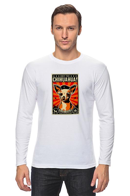Лонгслив Printio Собака: chihuahua футболка стрэйч printio собака chihuahua