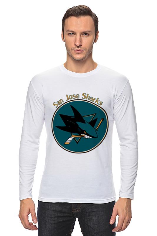 Лонгслив Printio San jose sharks лонгслив printio san jose sharks сан хосе шаркс