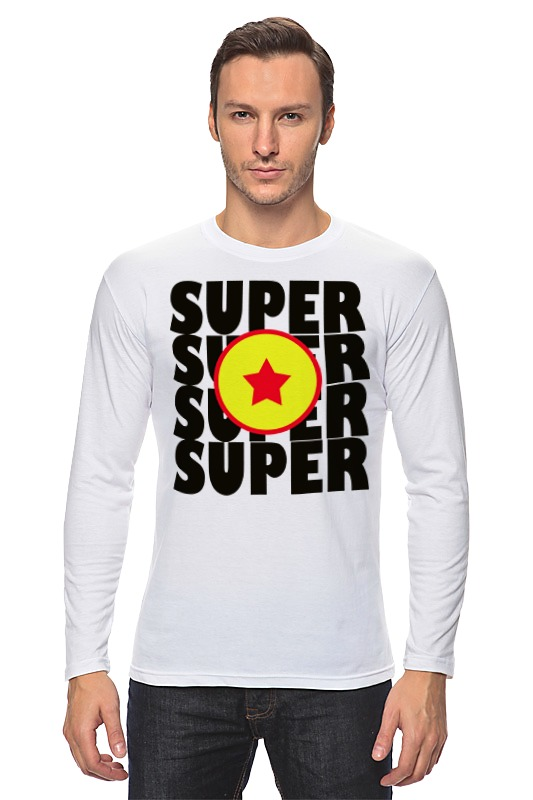 Лонгслив Printio Супер звезда (супер сайян)