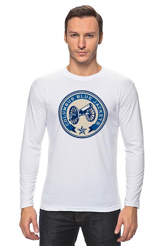Лонгслив Printio Columbus blue jackets / nhl usa кепка printio логотип nhl
