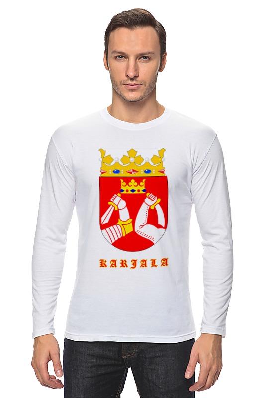 Лонгслив Printio Сортавала-карелия футболка классическая printio сортавала карелия