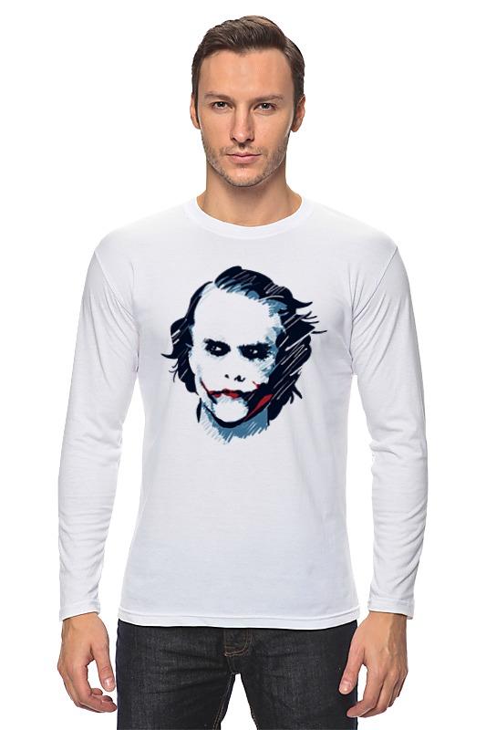 Лонгслив Printio Джокер / joker лонгслив printio batman x joker