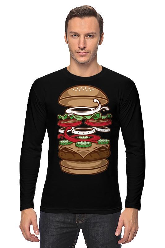 Лонгслив Printio Burger/бургер beer burger