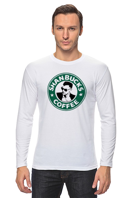 Лонгслив Printio Shanbucks coffee