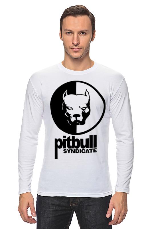 Лонгслив Printio Pitbull syndicate pitbull pitbull rebelution