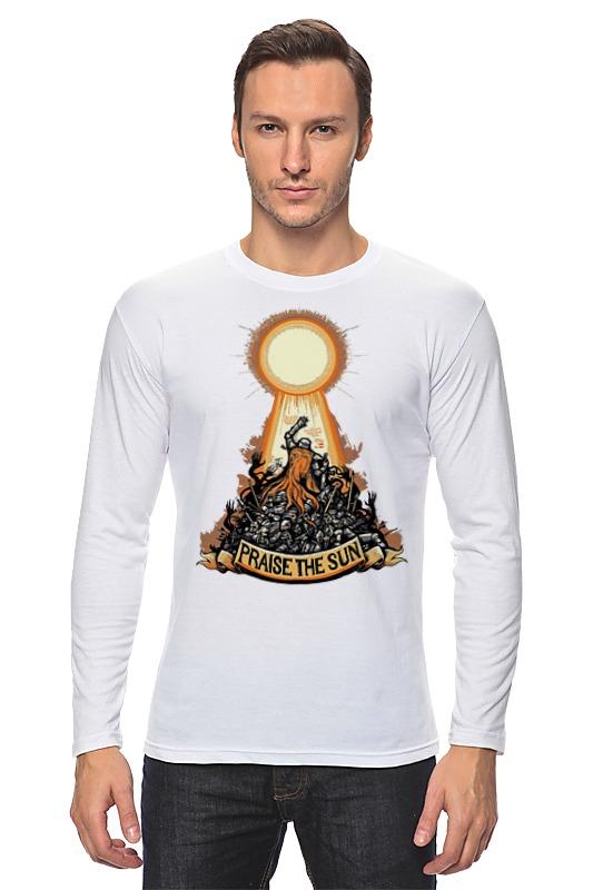 Лонгслив Printio Praise the sun футболка классическая printio praise the sun