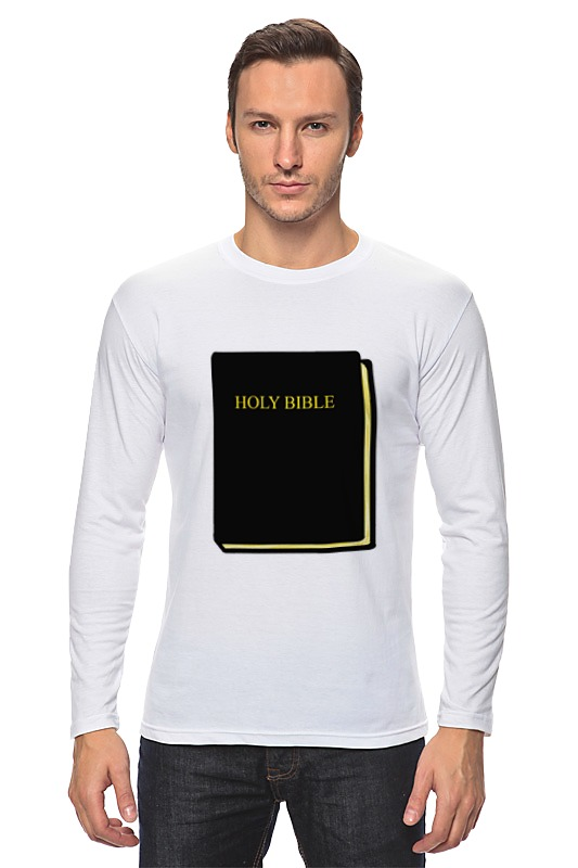 Лонгслив Printio Holy bible