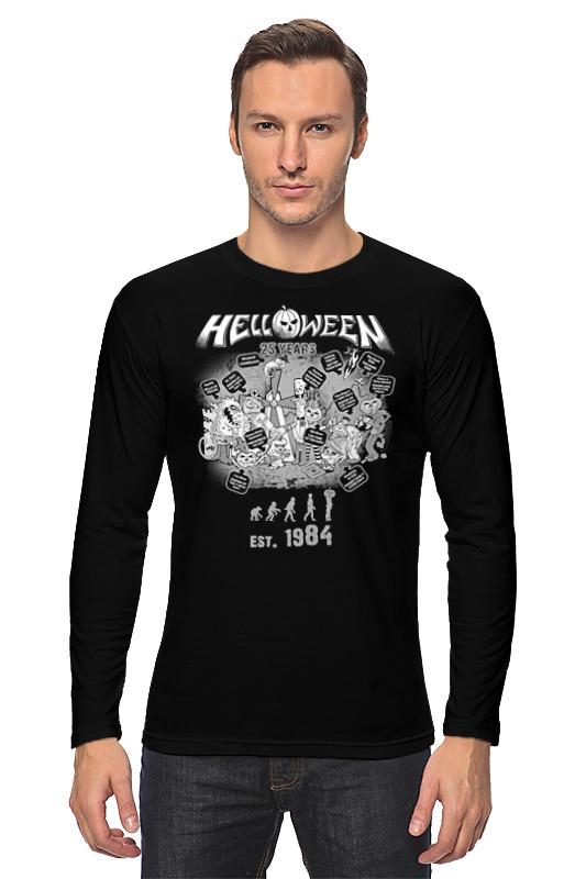 Лонгслив Printio Helloween ( rock band ) helloween chile