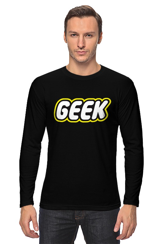Printio Geek (гик) лонгслив printio geek