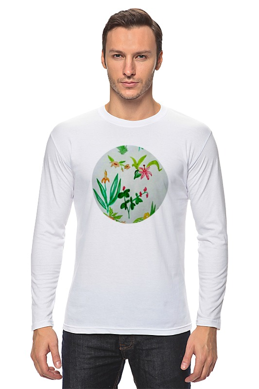 Лонгслив Printio Ботаника андреева и ботаника